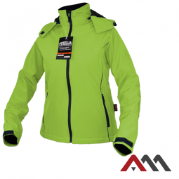 Finezja Green kurtka softshell