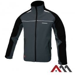 Professional Grey kurtka softshell