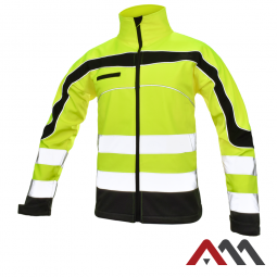 SOFTFLEX Yellow Kurtka Softshell