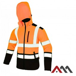 SOFTREF Orange Kurtka Softshell