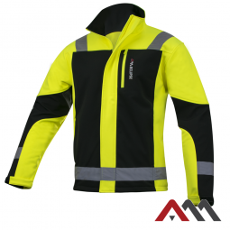 Eclipse Yellow kurtka softshell